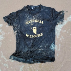 Camiseta REFUGEES WELCOME Chica
