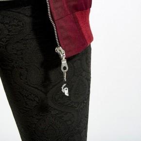 Burgundy Harrington Jacket for Women