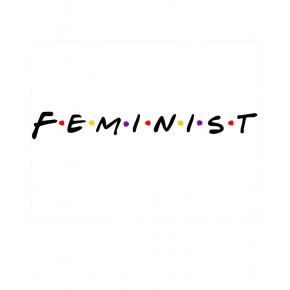 CAMISETA FEMINISTA ENTALLADA