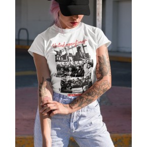UNITED AGAINST RACISM TSHIRT FOR WOMEN
