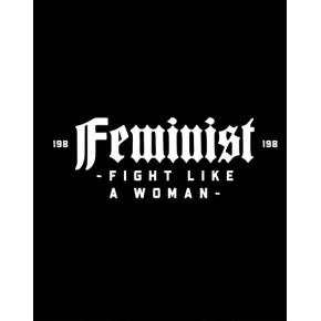 CAMISETA FEMINAZI ENTALLADA