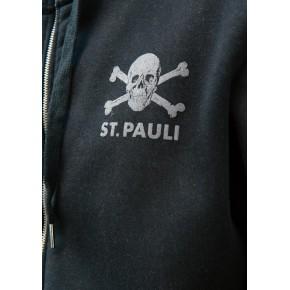 SUDADERA ST.PAULI CREMALLERA