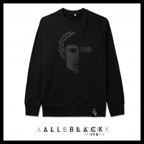 SUDADERA ALL BLACK