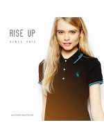 POLO RISE UP VERDE CHICA