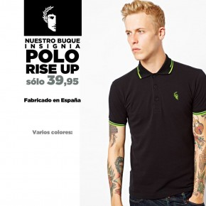 POLO RISE UP VERDE
