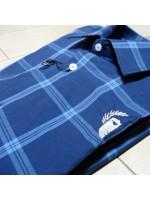 Camisa Leader cuadros azul